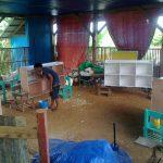 08.2015 - Bücherregale für Grundschule in Hernani